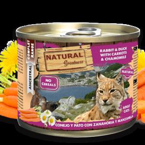 Natural Greatness compleet natvoer katten